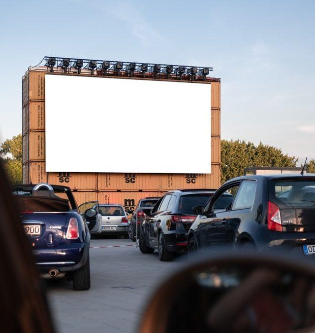 Drive in bioscoop bezoeken